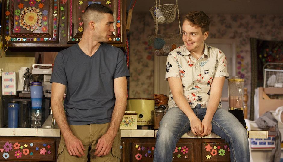 Cameron Scoggins and Tom Phelan in Hir | Photo by Joan Marcus