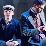 Henry Clarke as Dr. Watson and Ron Menzel as Sherlock Holmes | Photo by Mark Gavin