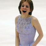 Sarah Hughes performs in women's figure skating for the XIX Winter Olympics. | Presse Sports via USA TODAY Sports