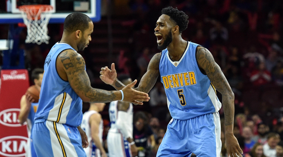 The Sixers fell to the Nuggets 108-105 at the Wells Fargo Center | John Geliebter-USA TODAY Sports
