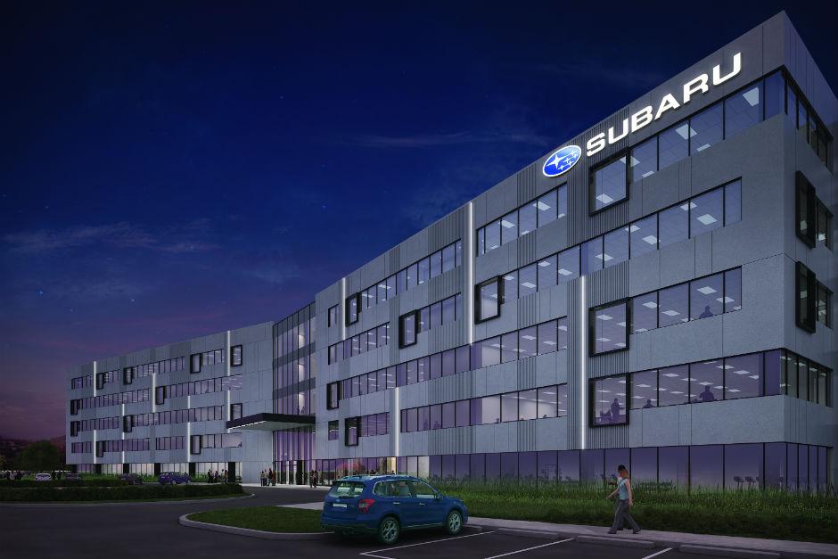 Subaru - Camden HQ rendering