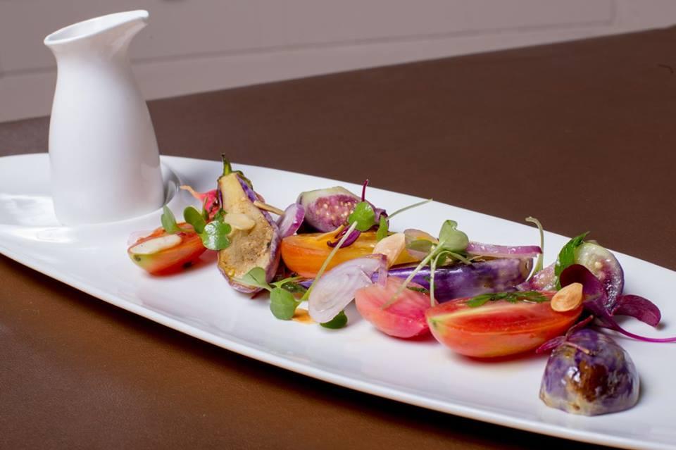 suga Eggplant and Tomato