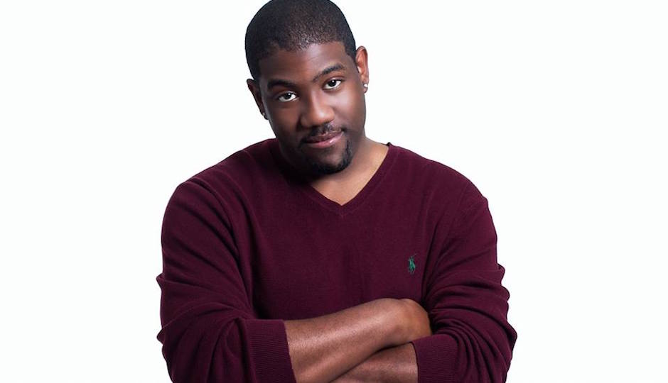 Comedian Clint Coley performs at Helium Comedy Club on Sunday night.