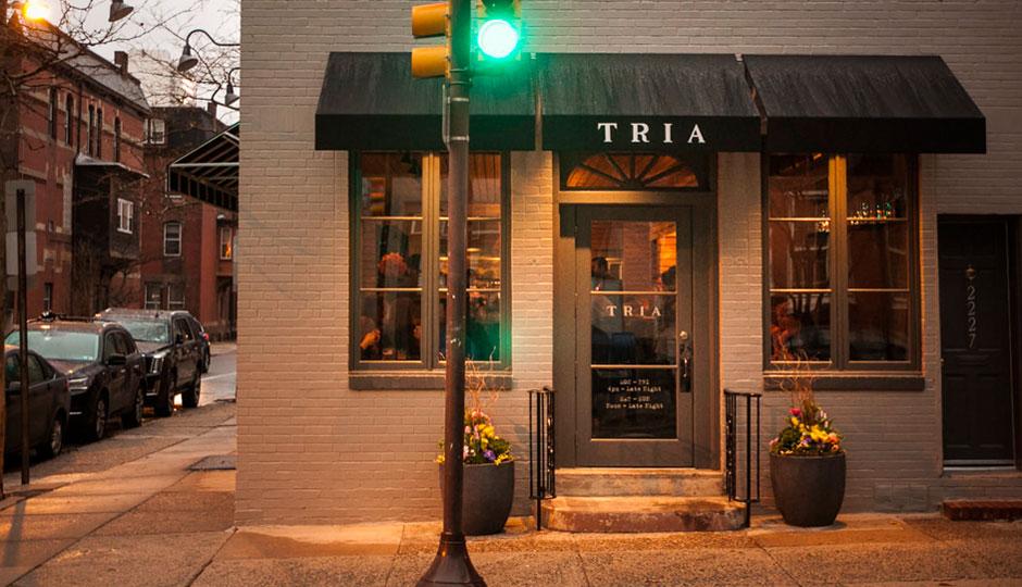 Luxury Hour at Tria Fitler Square   Photo via Tria Cafe