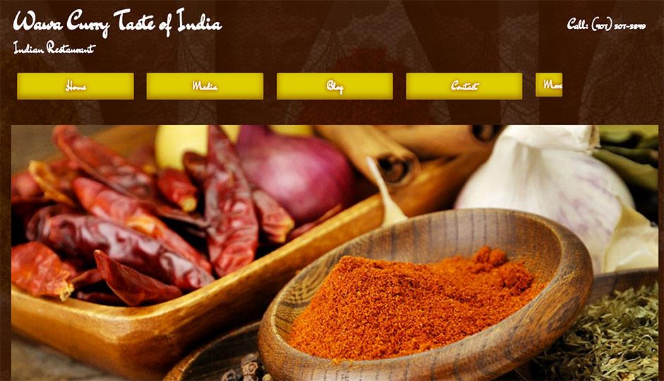 Wawa Curry Taste of India