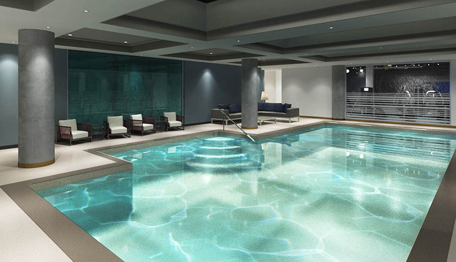 Because Nothing Beats A Pool In The Dead Of Winter There S This Indoor Oasis At Logan Hotel Image Via