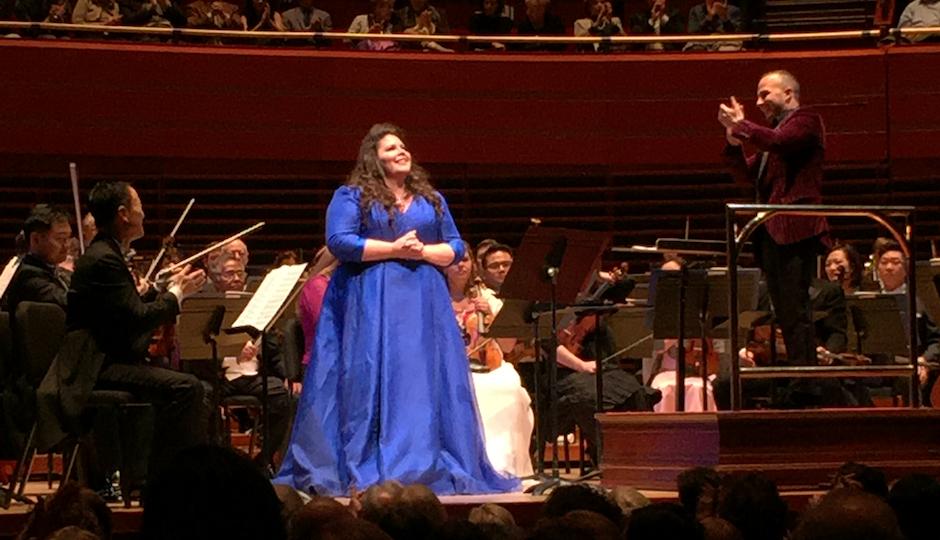 Meade and Nezet-Seguin at Verzion Hall. Photo by the author.