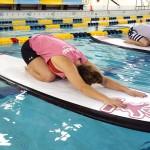 Indoor SUP Yoga at Drexel | Photo via Aqua Vida