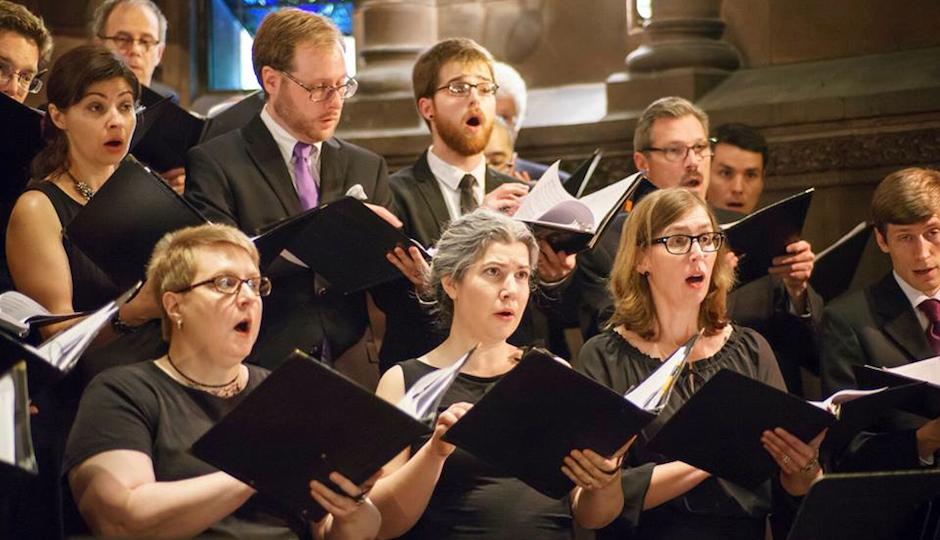 Members of Choral Arts Philadelphia.