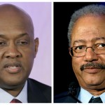 State Rep. Dwight Evans and U.S. Rep. Chaka Fattah | Photos by George Widman and Matt Rourke/AP