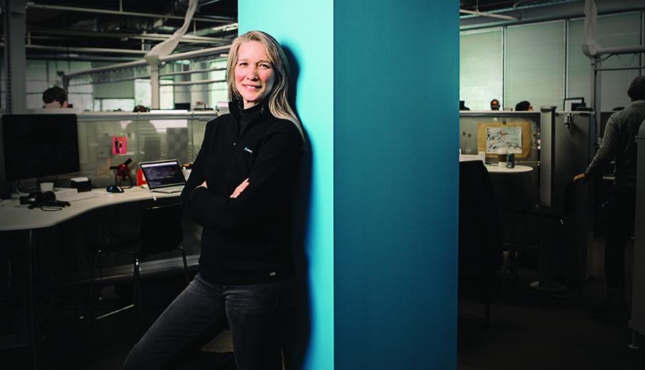 Lucinda Duncalfe, CEO of Monetate. (Photo by Jared Castaldi)