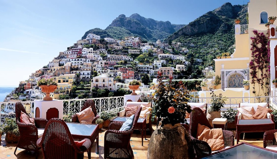 How about this view from Le Sirenuse in Positano? Facebook.com/LeSirenuse/