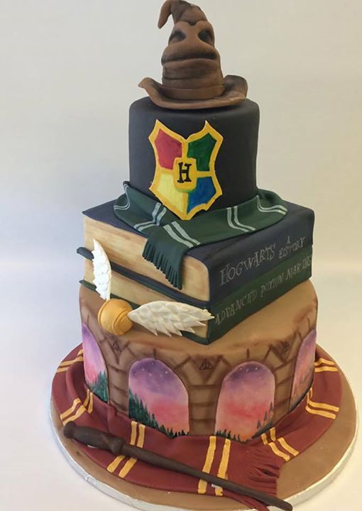 Every Harry Potter enthusiast in the country wants this cake right now. Caitlyn Clausen, Night Kitchen Bakery.