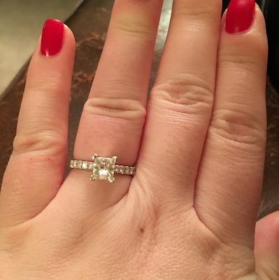 Alicia's ring!