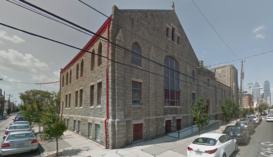 First African Baptist Church, 16th and Christian | Via Google Street View