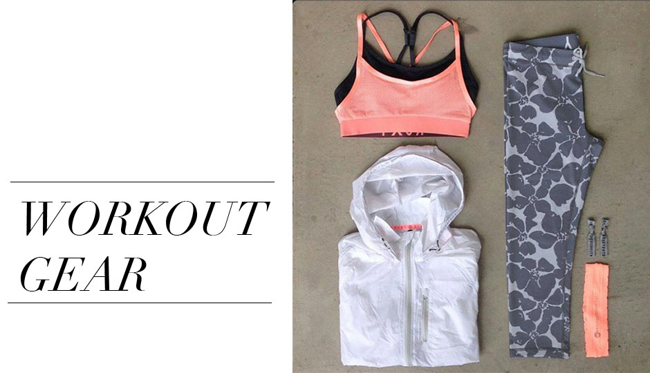 WORKOUT GEAR LAUNDRY