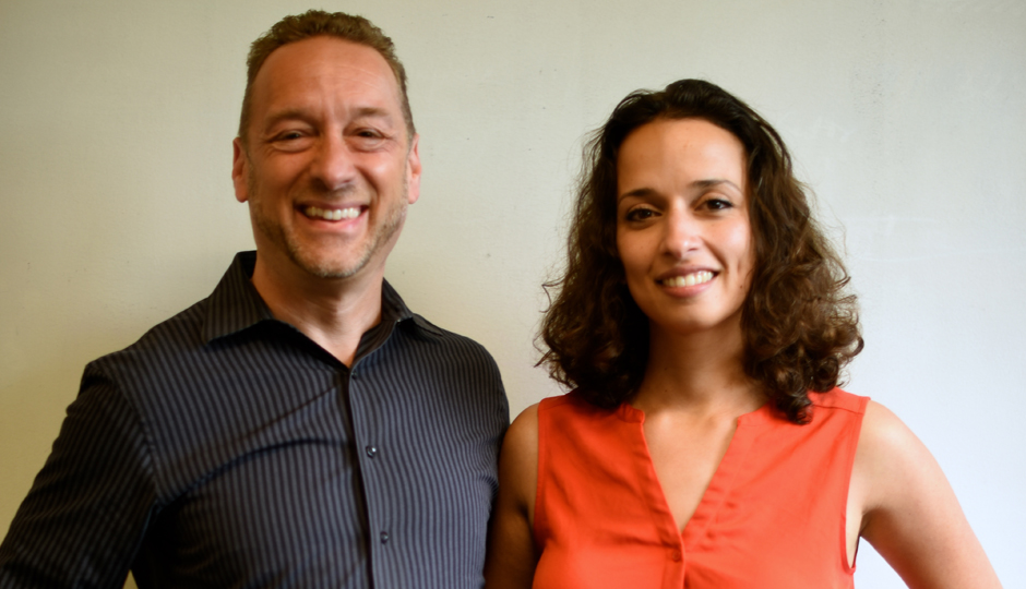 Anthony Gold and Yasmine Mustafa, co-founders of ROAR for Good.