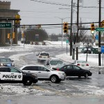 Winter Storm Jonas–related flooding has hit Atlantic City and other towns at the Jersey Shore. Photo by Mel Evans/AP