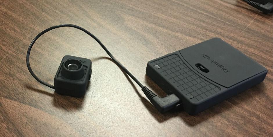 Body camera worn by SEPTA transit police