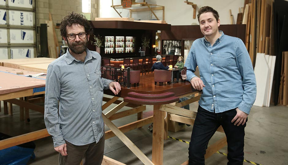 Charlie Kaufman, left, and Duke Johnson. Photo courtesy of Viacom