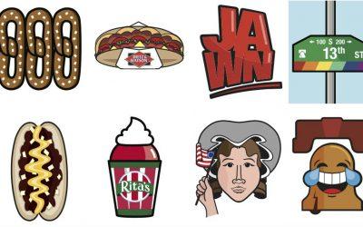Philly emojis