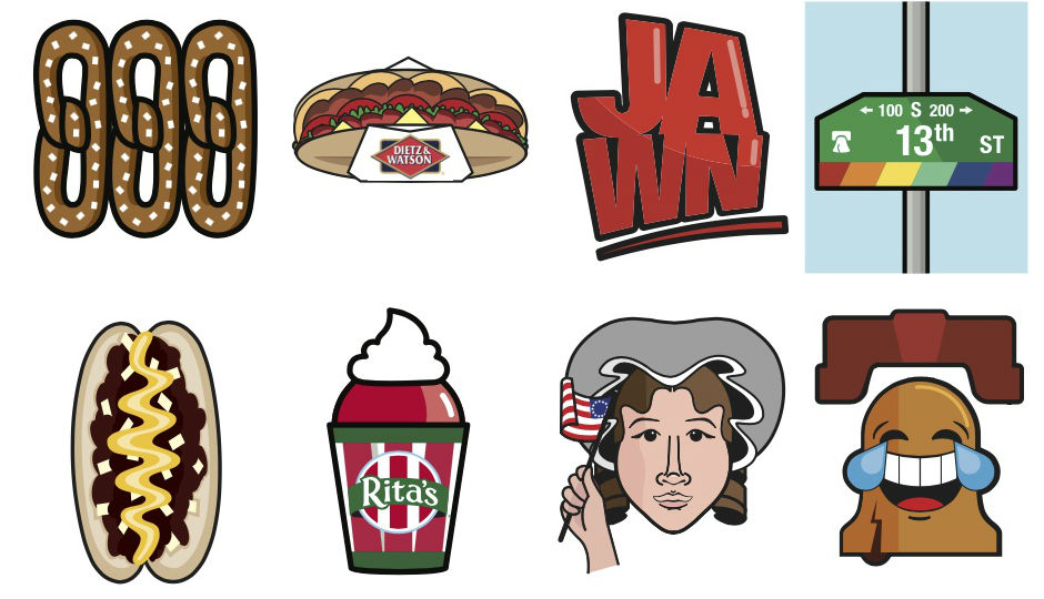 Philly emojis