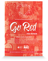 Go Red 2015 cover