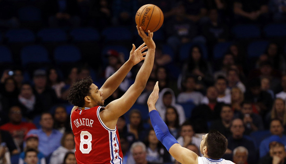 Led by 20 points from rookie center Jahlil Okafor, the Sixers picked up their 6th win of the season in Orlando | Kim Klement-USA TODAY Sports