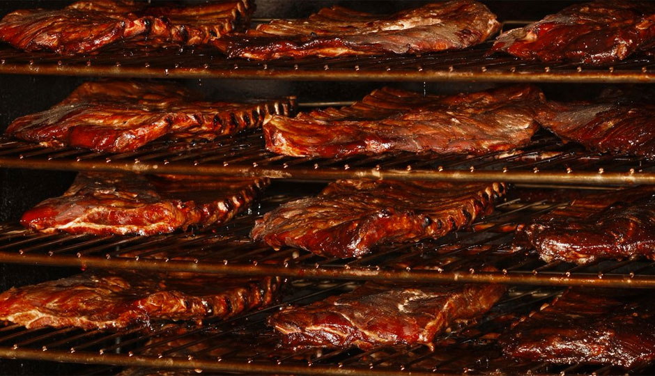 Ribs at Percy Street Barbecue | Photo by Michael Regan