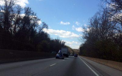 Schuylkill Expressway I-76 road