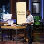 Martin Dell'Arciprete pitches SmartPlate on Shark Tank. (ABC/Michael Desmond)