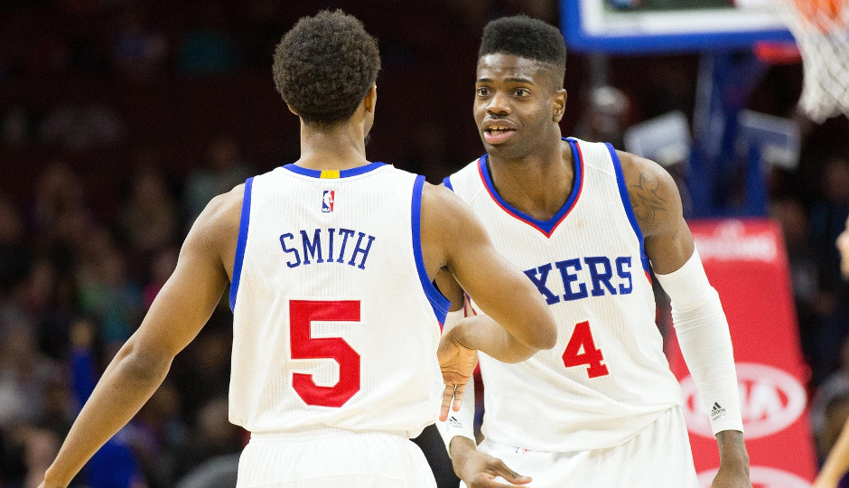 Ish Smith has jumpstarted the development of Nerlens Noel since returning to the Sixers on December 24th | Bill Streicher-USA TODAY Sports