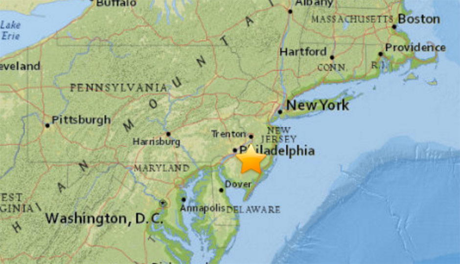 At Least Nine Sonic Booms Shook New Jersey Today