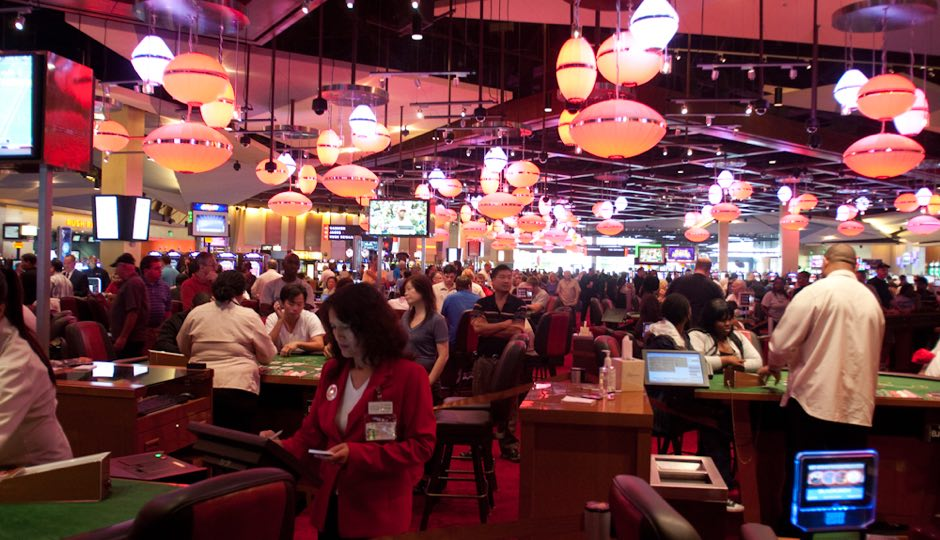 SugarHouse Casino - interior