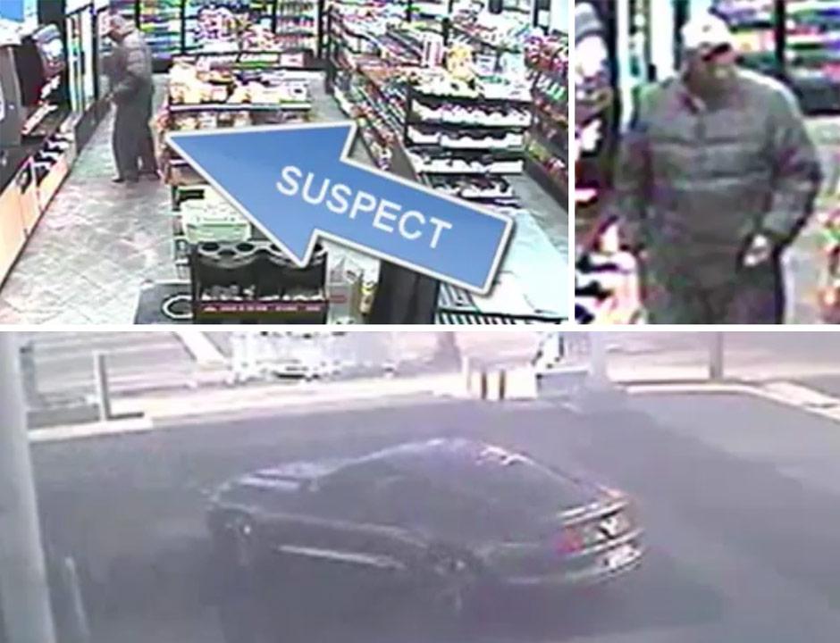 Monk robbery - suspect
