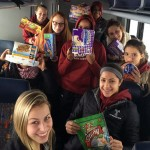 Members of the Temple women's gymnastics team stuck on Pennsylvania turnpike