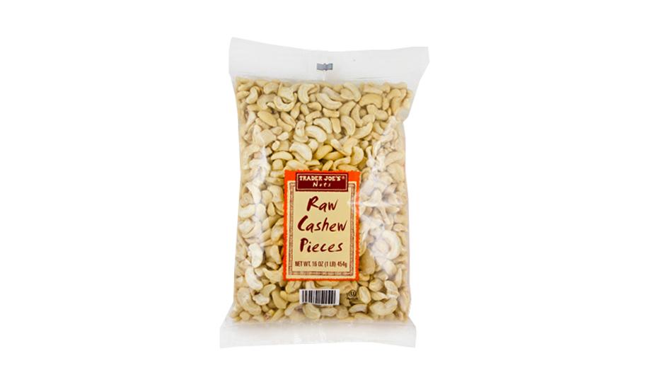Trader Joe's Raw Cashew Pieces | Photo courtesy Trader Joe's