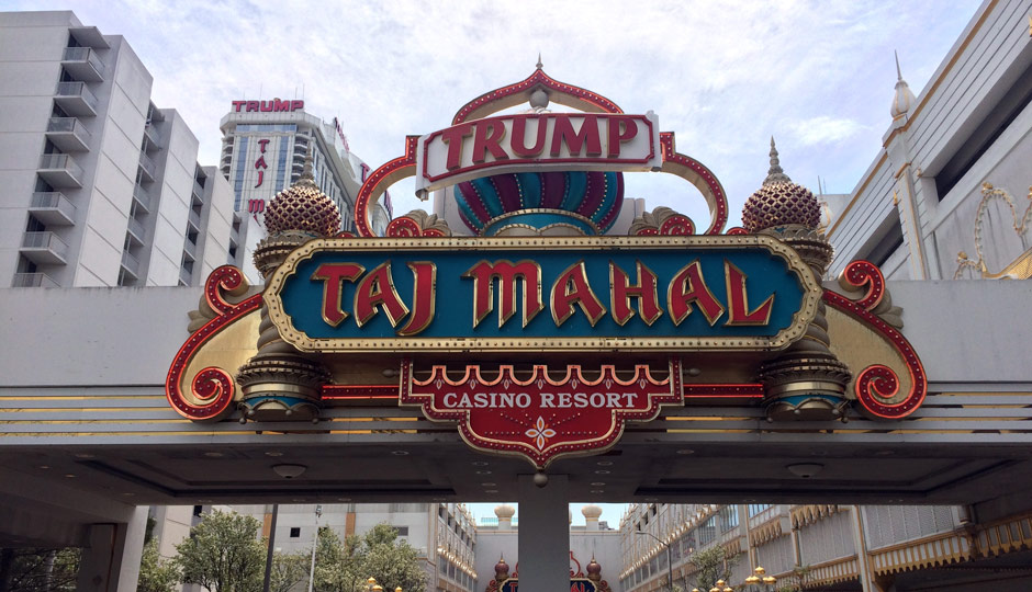 Trump Taj Mahal in Atlantic City