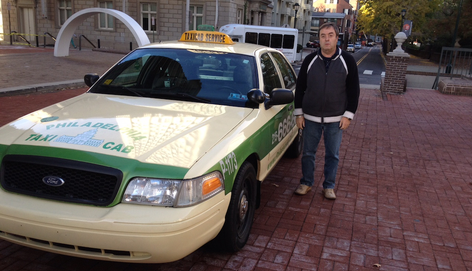 Cab company co-owner Boris Kautsky is taking Uber to federal court.
