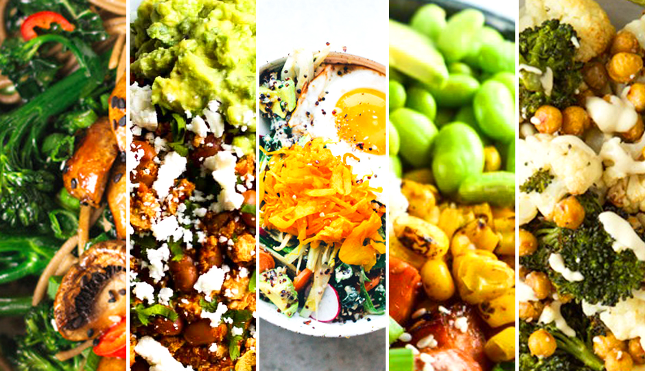 what to eat veggie bowls lead