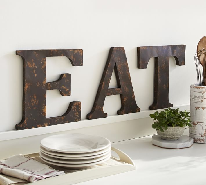 Metal Wall Art Letters Easy Craft Ideas
