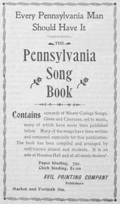 1899-pennsongbook
