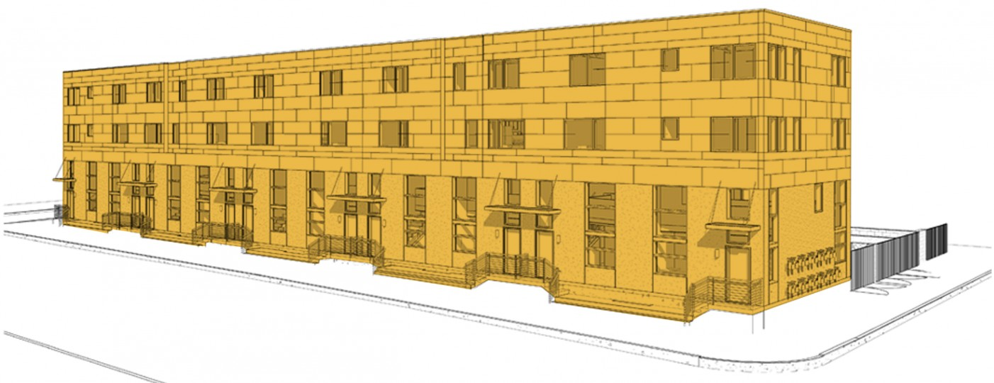 4050 Haverford Avenue } Rendering: PEC