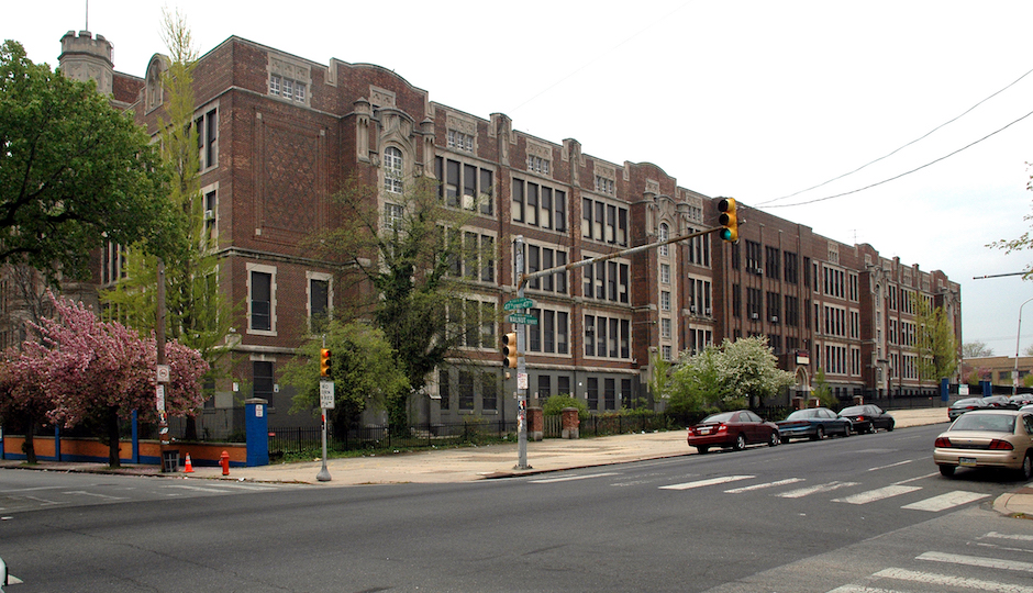 The former West Philadelphia High School | via Colliers