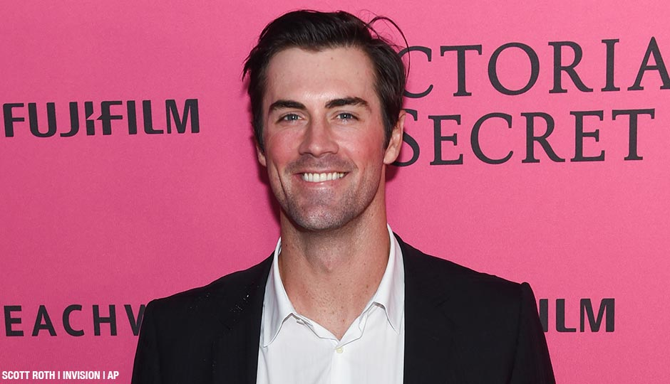 MLB pitcher Cole Hamels attends the 2015 Victoria's Secret Fashion Show After Party at Tao on Tuesday, Nov. 10, 2015, in New York.