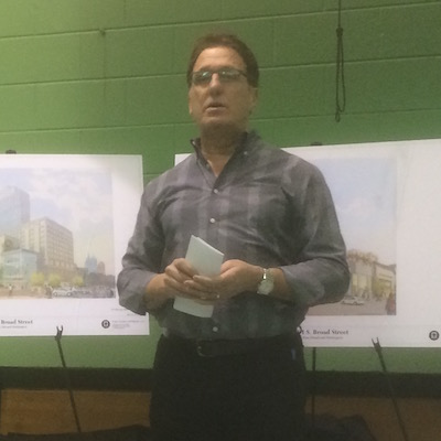 Bart Blatstein at the HEC Zoning Committee meeting. Photo | Sandy Smith