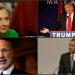 Clinton - Trump - Wolf - Obama