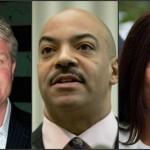 Left, John Dougherty (Jeff Fusco) | Center, Seth Williams (AP) | Right, Kathleen Kane (AP)