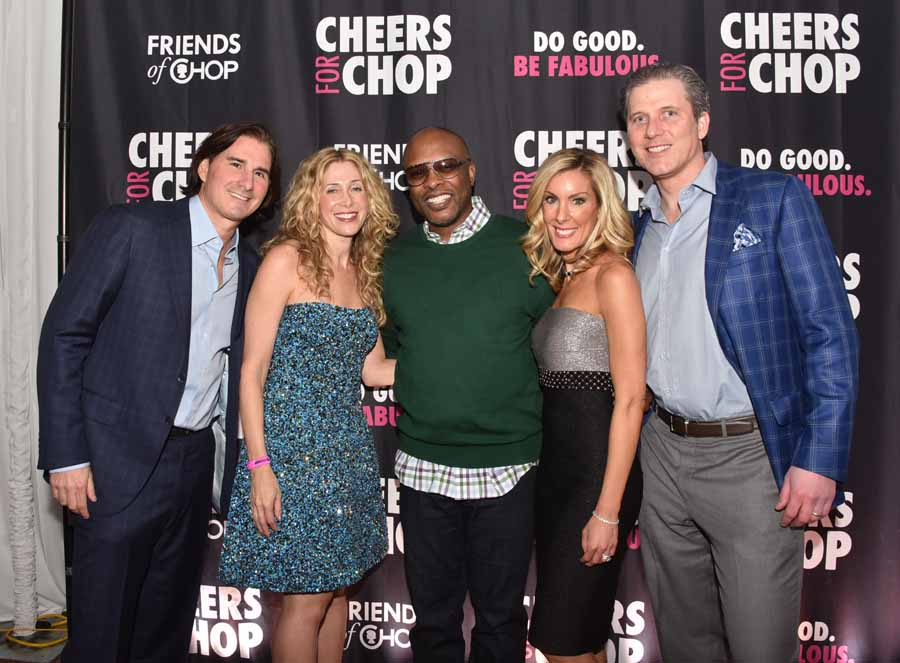 DJ Jazzy Jeff Spins at Third Annual Cheers for CHOP