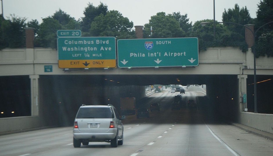 I-95 at Columbus Blvd